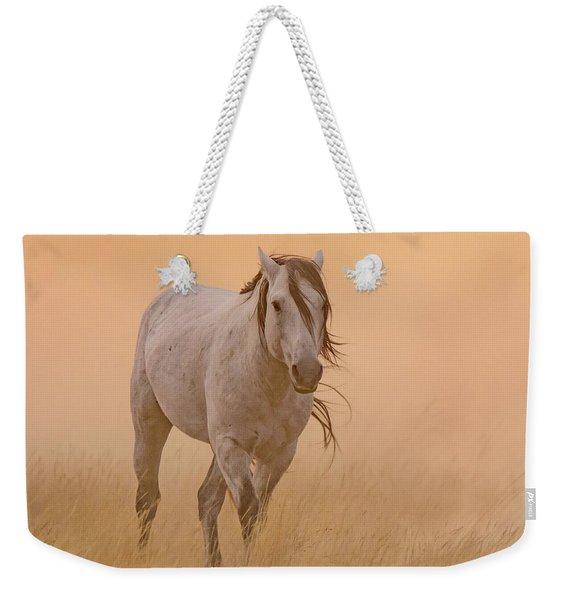 Dusty Evening Weekender Tote Bag