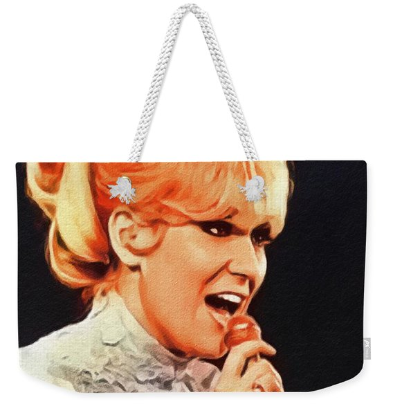 Dusty Springfield, Music Legend Weekender Tote Bag
