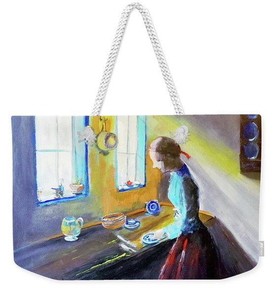 Dutch Maiden Weekender Tote Bag