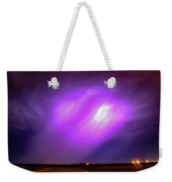 Dying Late Night Supercell 016 Weekender Tote Bag