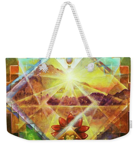 Eagle Boy And The Dawning Of A New Day Weekender Tote Bag