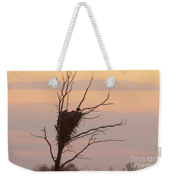 Eagle Family Weekender Tote Bag