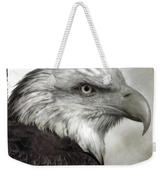 Eagle Protrait Weekender Tote Bag