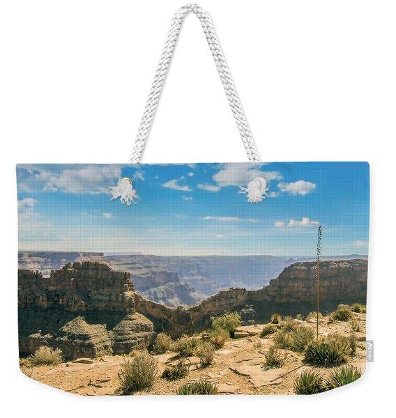 Eagle Rock, Grand Canyon. Weekender Tote Bag