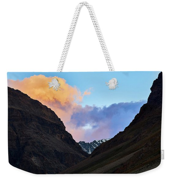 Early Morning Clouds In Sarchu Weekender Tote Bag