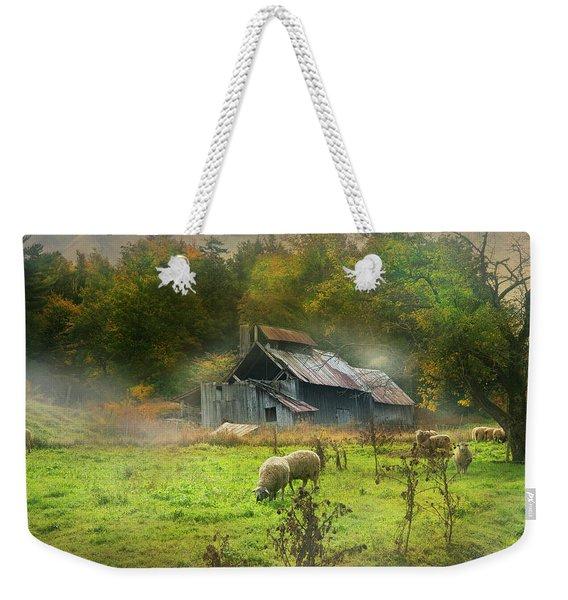 Early Morning Grazing Weekender Tote Bag