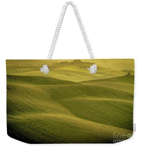 Early Morning On Southern Tuscan Farmland Weekender Tote Bag