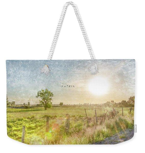 Early Morning Weekender Tote Bag