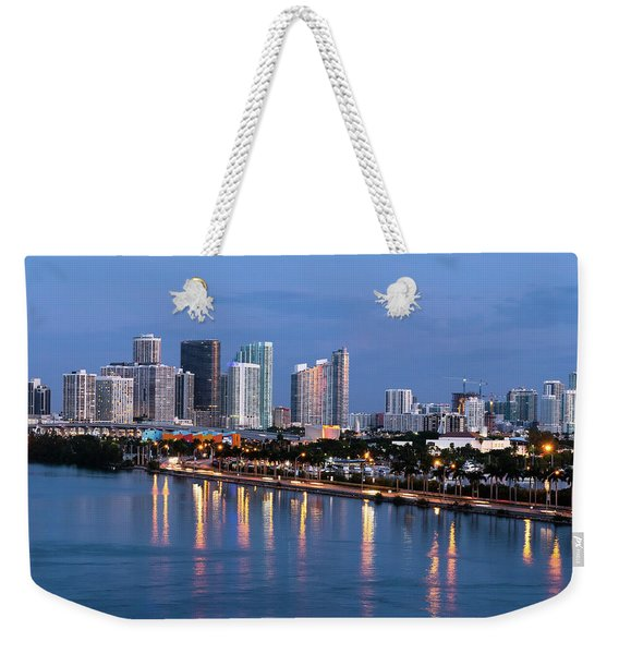 Early Rise Miami Weekender Tote Bag