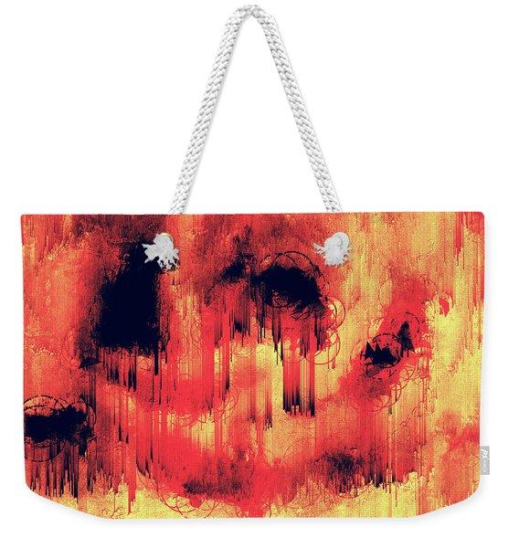 Early Signs Weekender Tote Bag