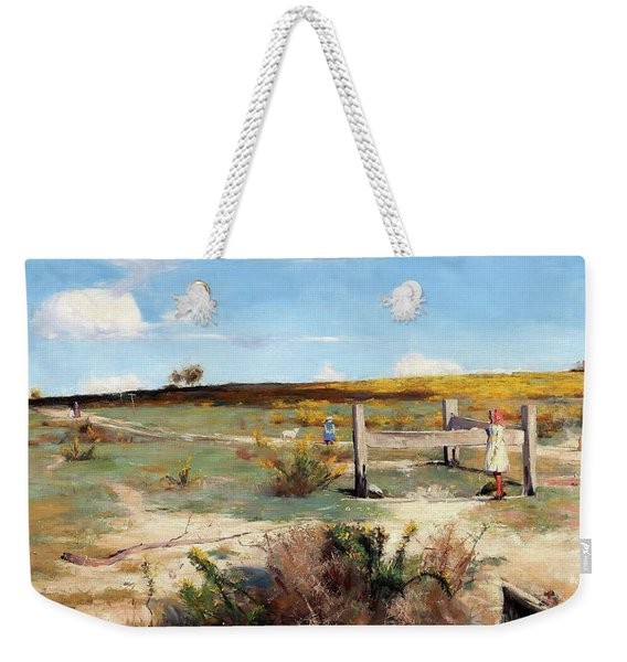 Early Summer, Gorse In Bloom - Digital Remastered Edition Weekender Tote Bag