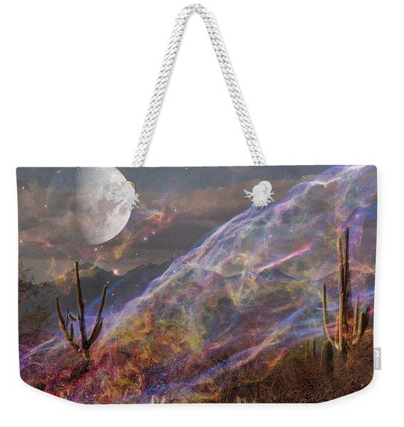 Earth Energy Weekender Tote Bag