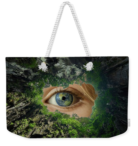 Earth Is Watching You Weekender Tote Bag