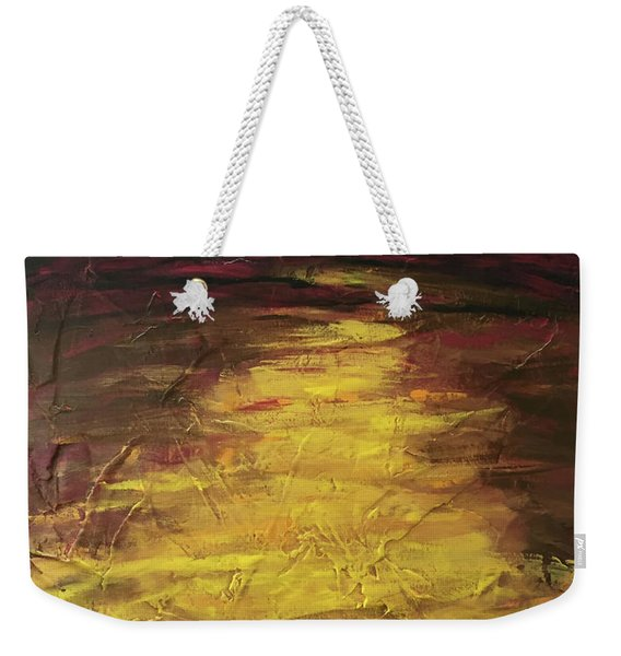 Earth In The Between Weekender Tote Bag