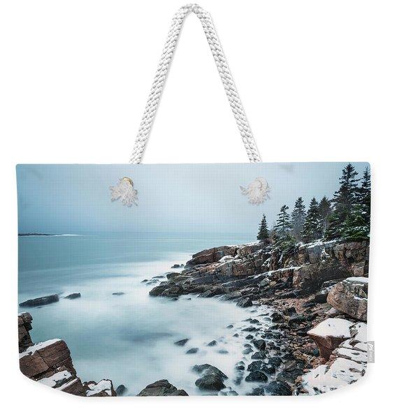 East Coast Winters Weekender Tote Bag