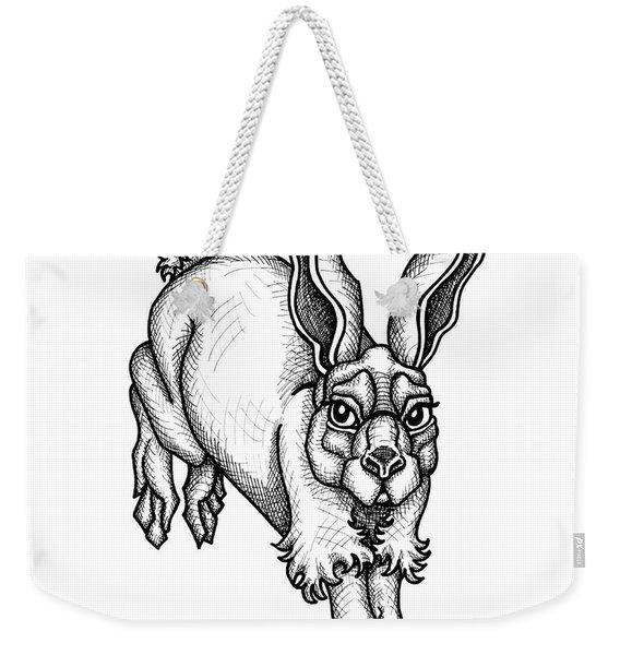 Eastern Cottontail Weekender Tote Bag