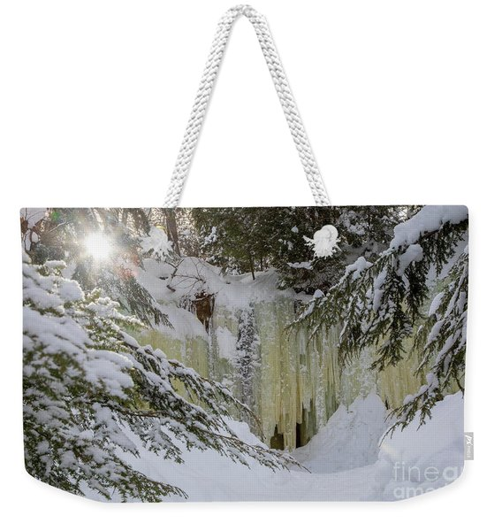 Eben Ice Caves Weekender Tote Bag