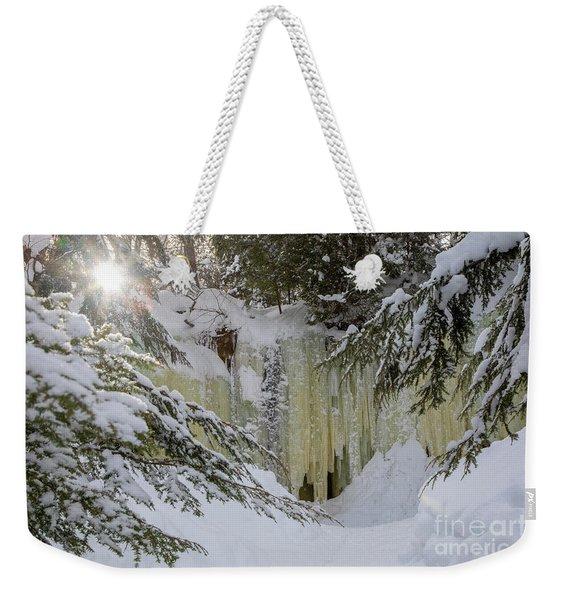 Eben Ice Caves Weekender Tote Bag