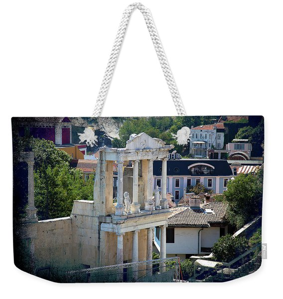 Echo From The Old Times Weekender Tote Bag