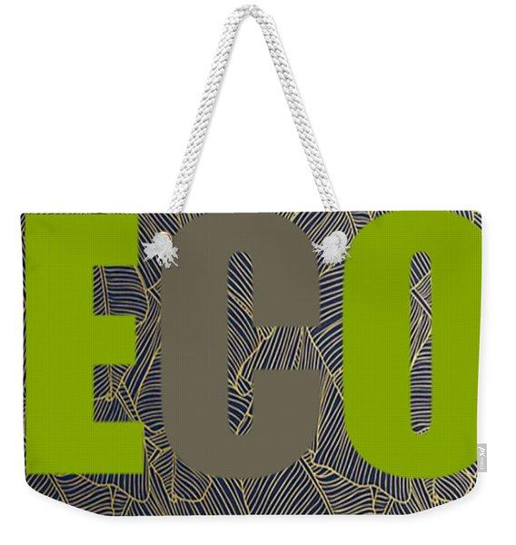 Eco Green Weekender Tote Bag