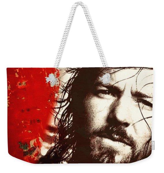 Eddie Vedder Weekender Tote Bag