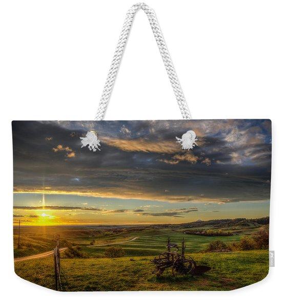 Eden At Sunrise Weekender Tote Bag