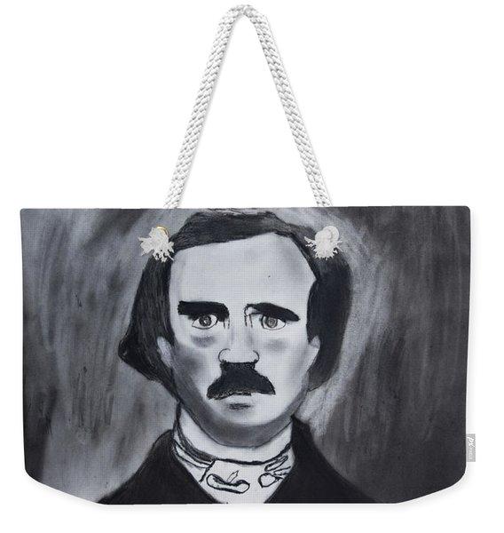 Edgar Allen Poe Drawing Weekender Tote Bag