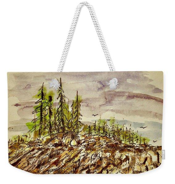 Edge Of Glory Weekender Tote Bag