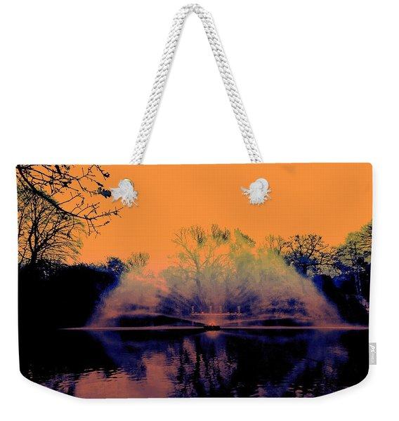 Edit This 14 - Mist Weekender Tote Bag