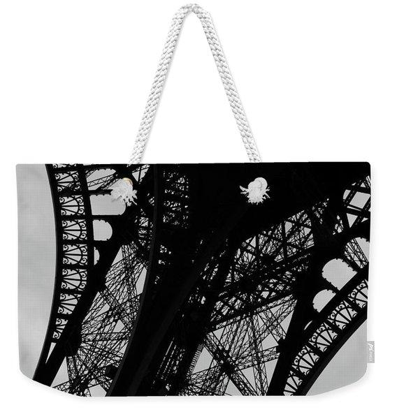 Eiffel Tower, Base Weekender Tote Bag