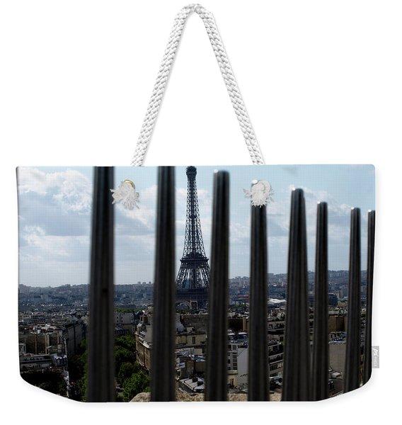 Eiffel Tower, Distant Weekender Tote Bag
