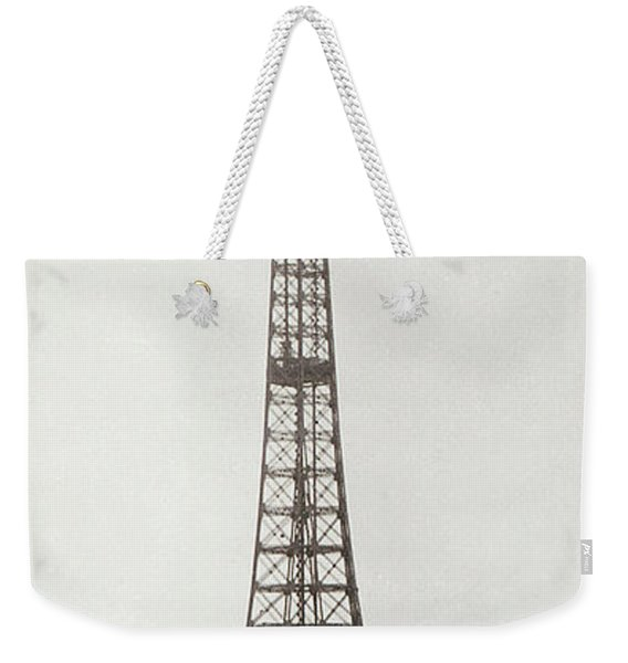 Eiffel Tower, Paris, 12th February And 12th March 1889 Weekender Tote Bag