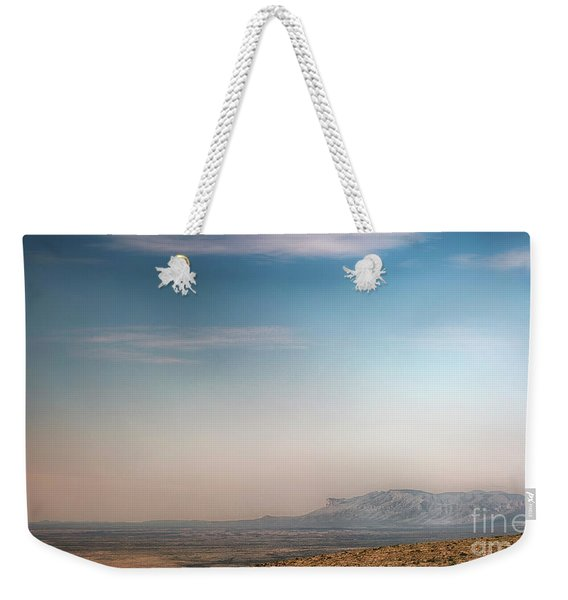 Guadalupe Mountains From A Distance Weekender Tote Bag
