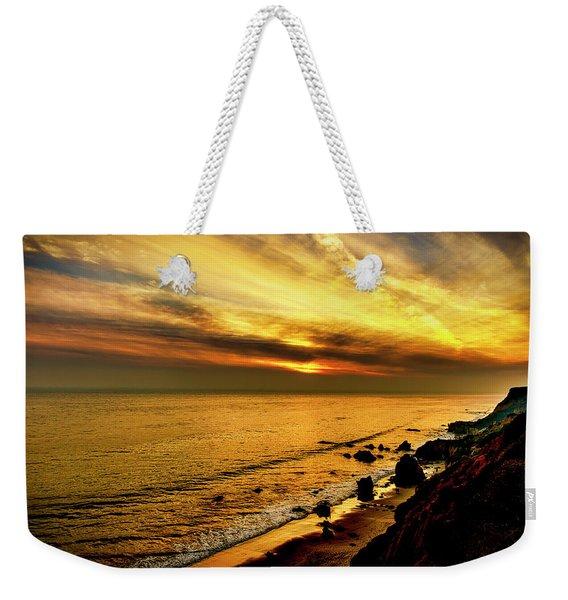 El Matador Beach Sunset Weekender Tote Bag