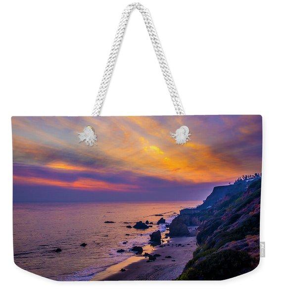 El Matador Sunset Weekender Tote Bag