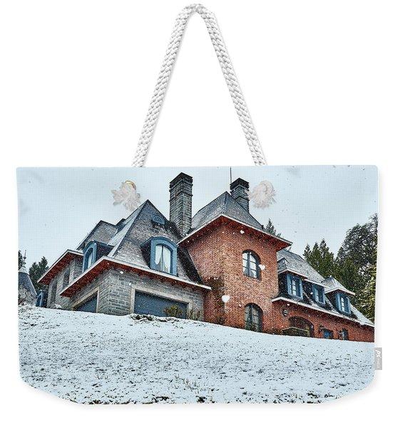 El Messidor Residence In The Argentine Patagonia Weekender Tote Bag