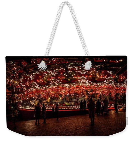 Electric Weekender Tote Bag