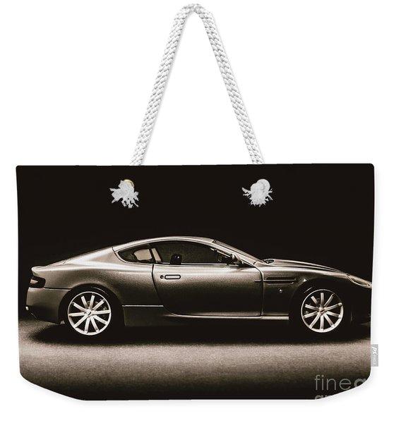 Elegant Darkness Weekender Tote Bag