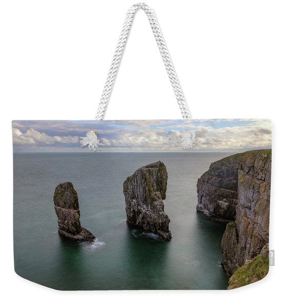 Elegug Stacks - Wales Weekender Tote Bag
