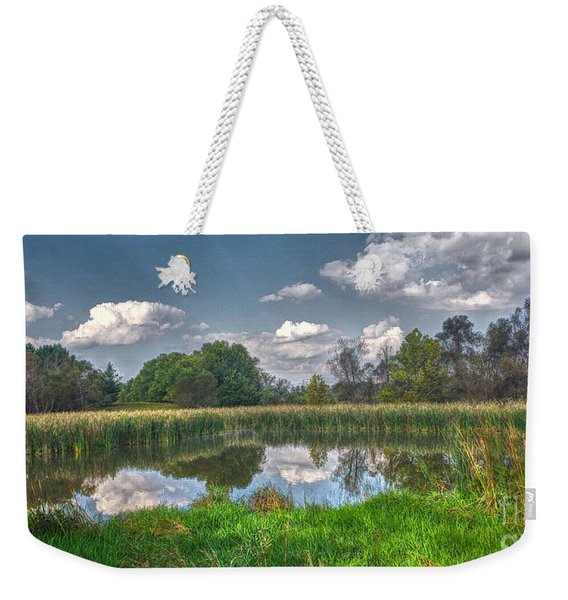 Ellis Pond Weekender Tote Bag