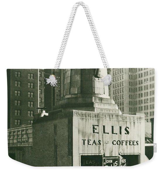 Ellis Tea And Coffee Store, 1945 Weekender Tote Bag