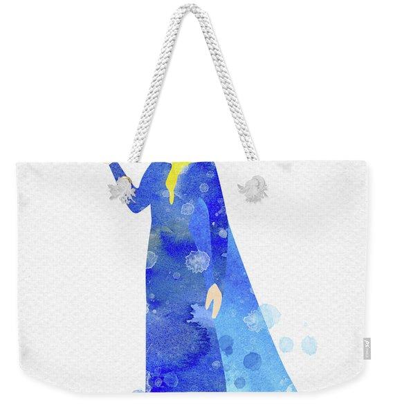 Elsa Watercolor Weekender Tote Bag