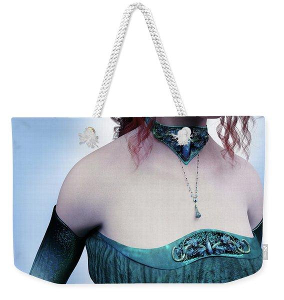 Elven Princess Portrait Weekender Tote Bag