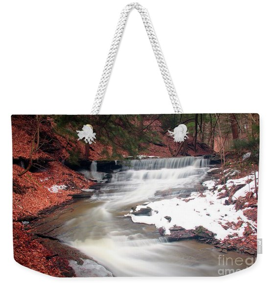 Emery Park South Wales Ny Weekender Tote Bag