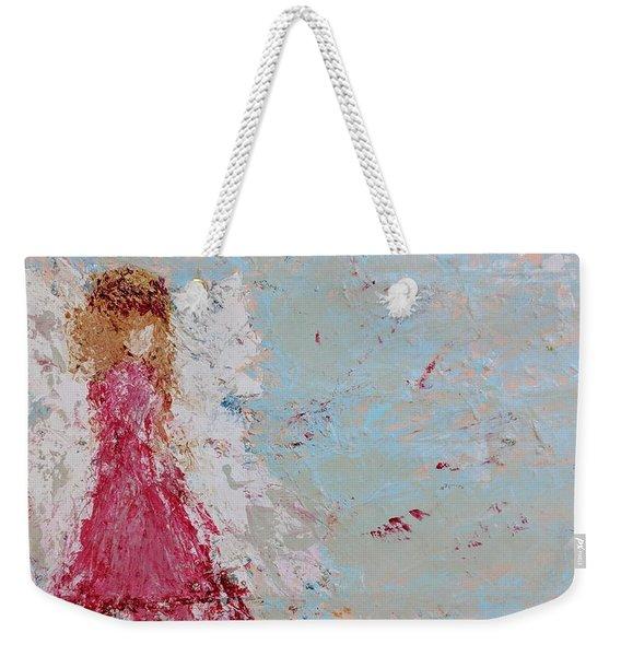 Emma's Angel Weekender Tote Bag