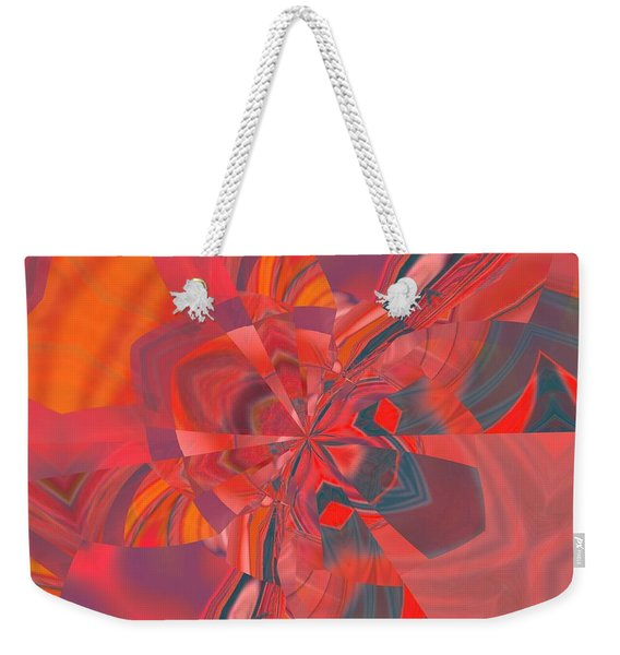 Weekender Tote Bag featuring the digital art Emotion by A zakaria Mami
