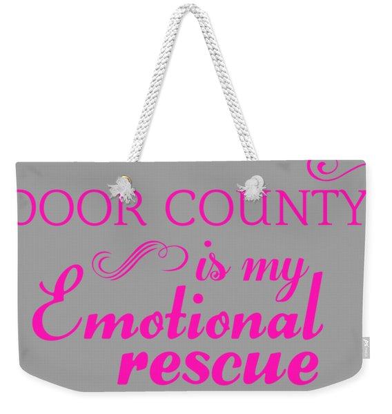 Emotional Rescue Weekender Tote Bag