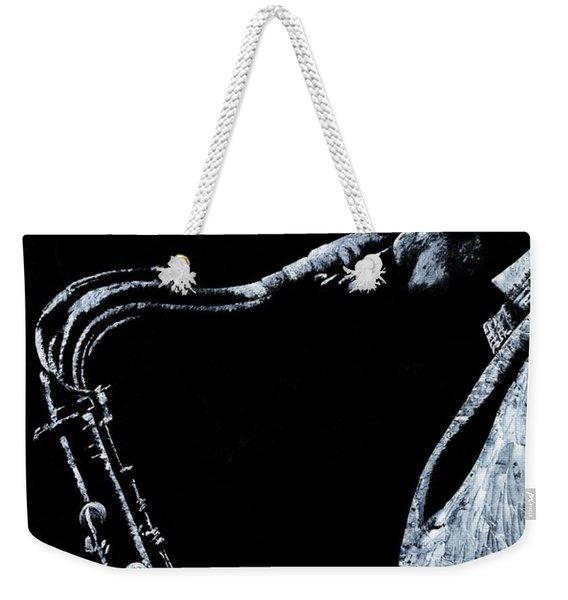 Emotional Sax Weekender Tote Bag