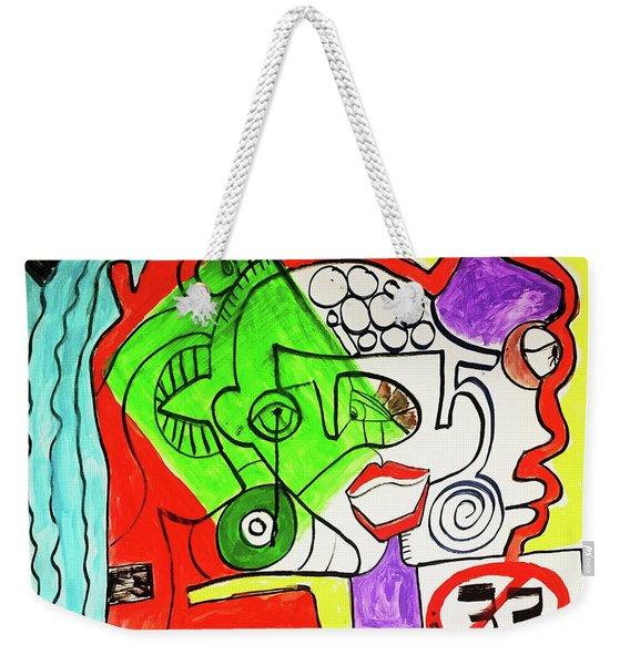 Emotions Weekender Tote Bag