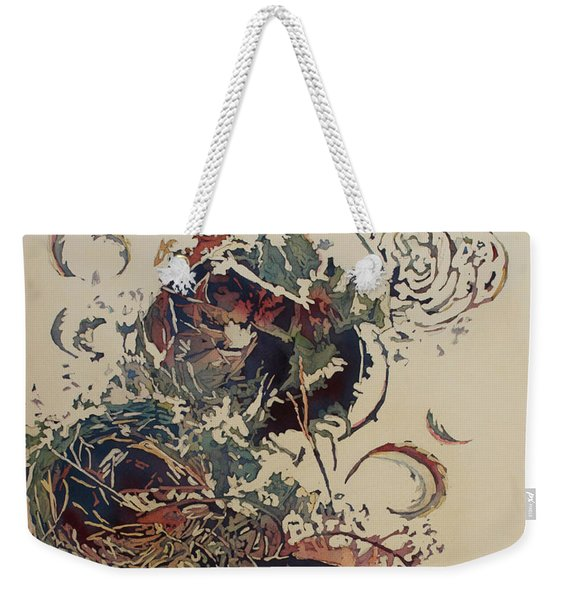 Empty Nest II Up And Out Weekender Tote Bag